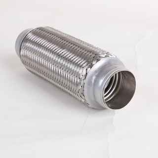 Stainless steel 3 inch automotive flex exhaust pipe small engine