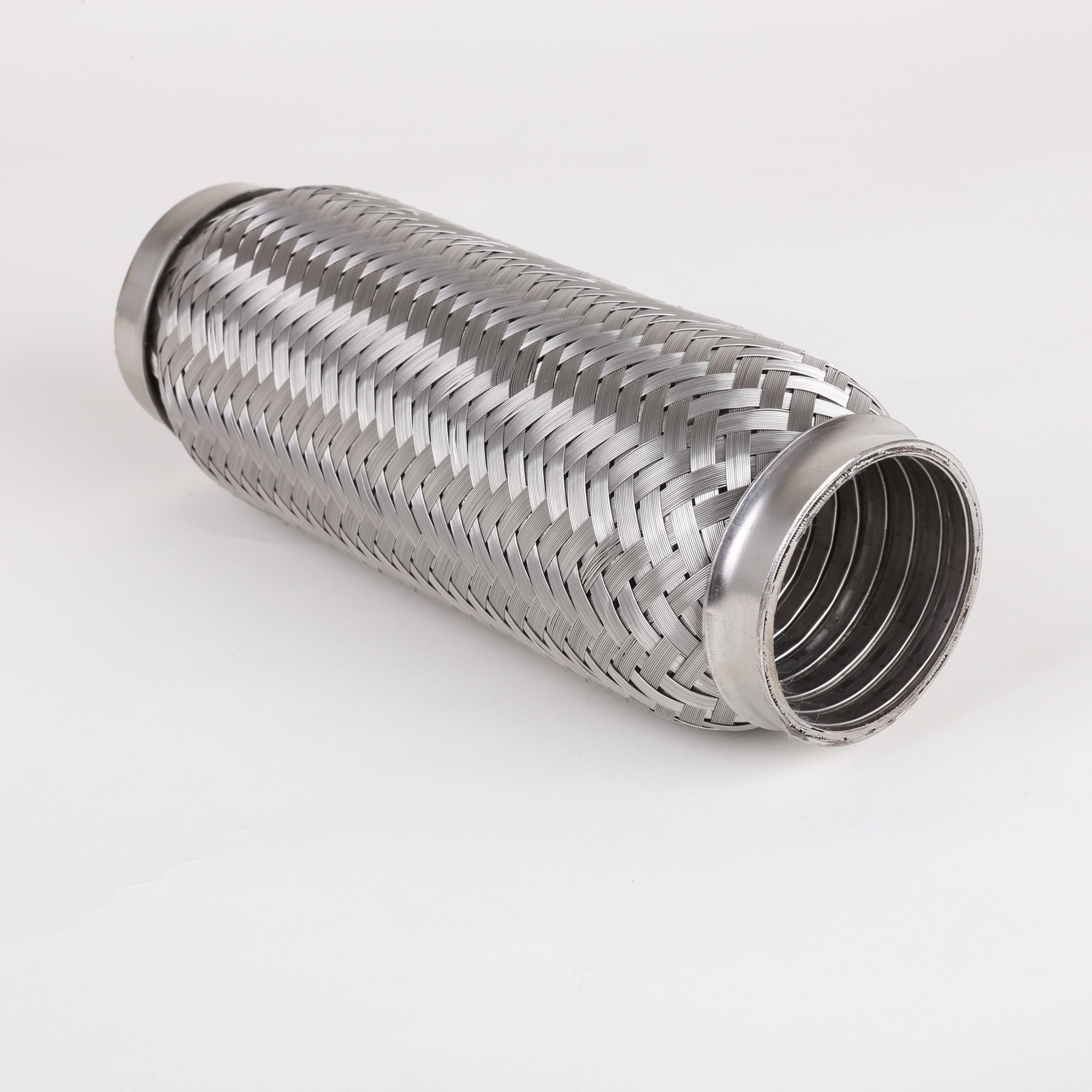 304 Stainless Steel high temperature Corrugated Braided Metal Flexible Hose Factory