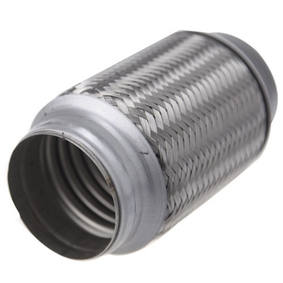 Double layers flexible hose 2 inch for car exhaust