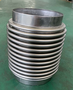 corrugated stainless steel flexible bellows for exhaust